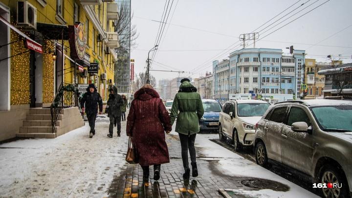 Снег и дожди: рассказываем, какая погода ждет ростовчан в первую неделю нового года