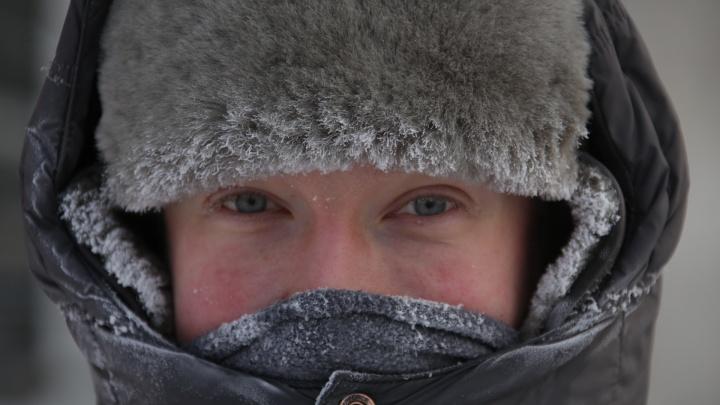Мороз крепчал: в Челябинской области похолодает до -40 °С