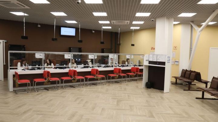 «Обслужат до 400 человек в день»: в ТЦ «Гудок» открылся новый офис МФЦ