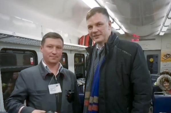 Николай Самойленко считает, что лучший транспорт для жителей Иглино — электропоезд