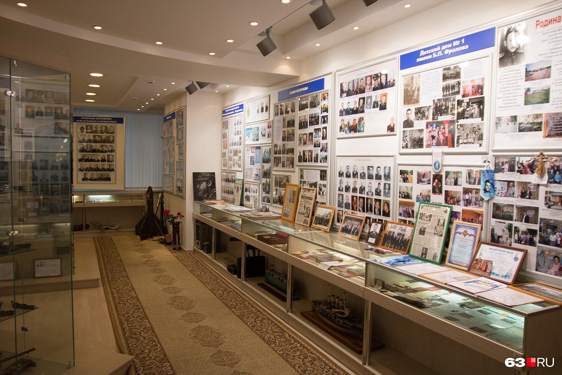 В музее Управления ФСБ по Самарской области знают немало захватывающих шпионских историй