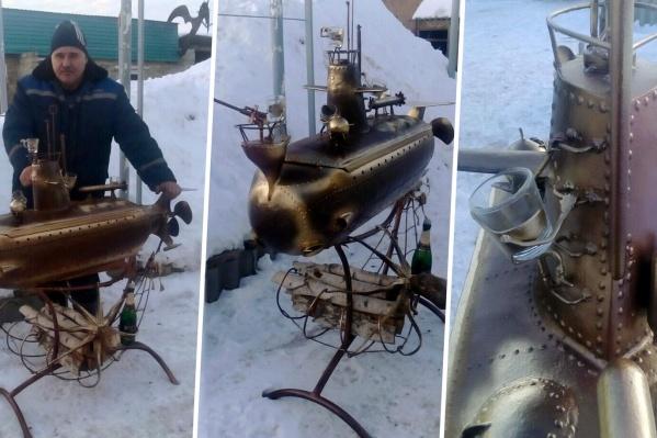 Игорь Хренов и его субмарина