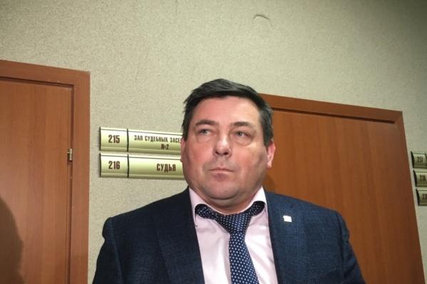 Петр Пьянков на одном из судов. Сейчас гендиректор «Стратегии» находится за решеткой, но вскоре собирается просить об УДО