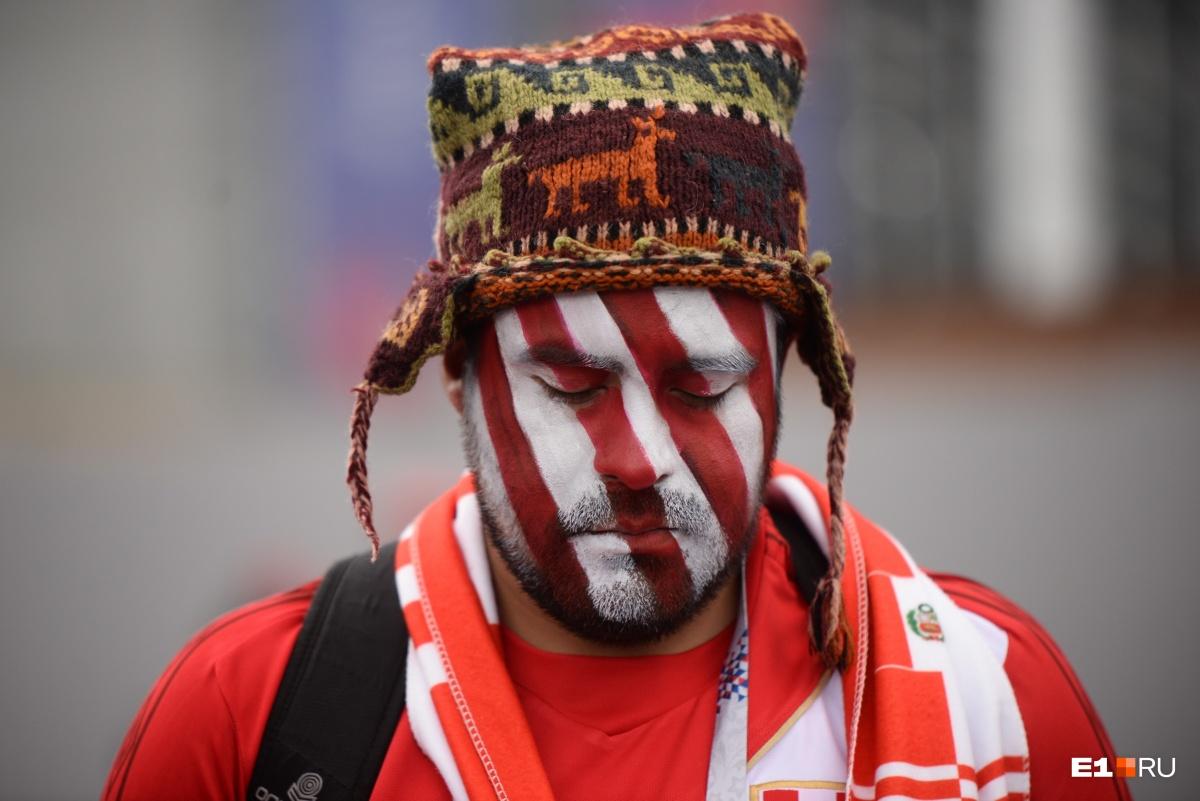 Вот оно — лицо болельщиков сборной Перу