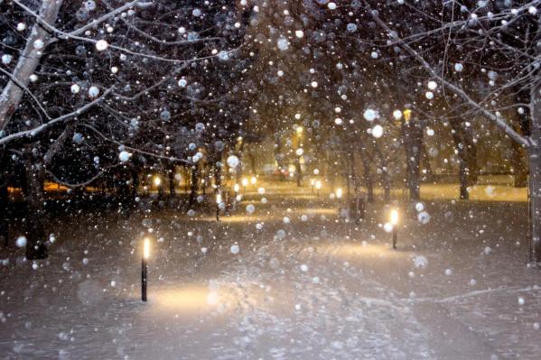 «Подумал, что потребуетсянесколько дней для того, чтобы всё покрылось снегом»
