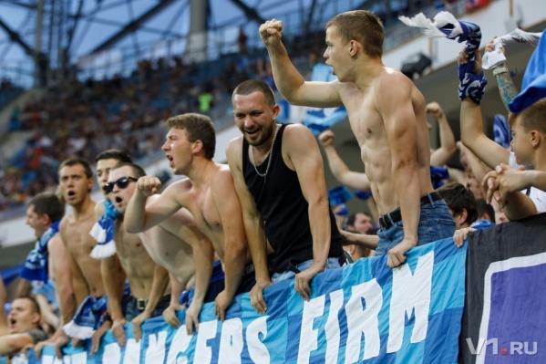 На единственный победный матч «Ротора» в Волгограде собиралось больше 30 тысяч фанатов