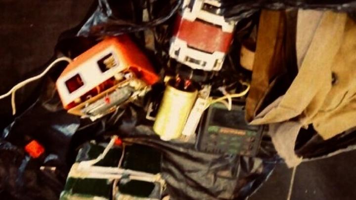 """Бомба, которой """"заминировали"""" ТРЦ """"Глобус"""", оказалась электродвигателем советского кухонного комбайна"""