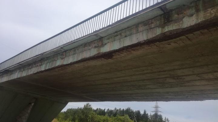 На федеральной трассе в Ярославской области из-за аварийного путепровода пострадало 15 машин
