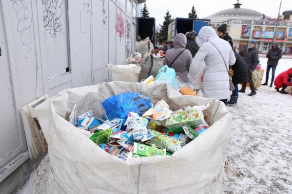 Ежемесячная акция по раздельному сбору мусора в Ярославле