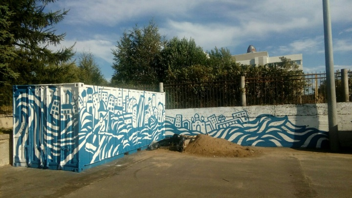 «Признание в любви к городу, каким бы он ни был»: в Архангельске появился новый арт-объект