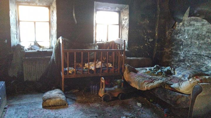 Детей, которых спасли на пожаре в Явлено-Покровке, выписали из больницы