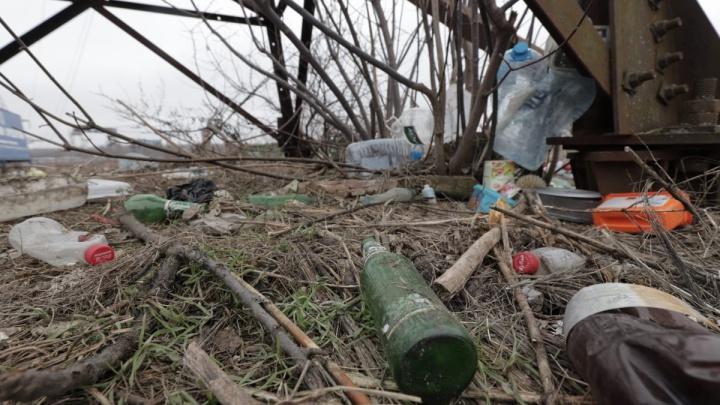 Словно ничего и не было: в Ростове за час убрали свалку, месяц перекрывавшую дорогу