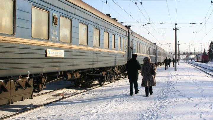 В Кургане полицейские сняли с поезда 17-летнюю девушку из Челябинска, сбежавшую из дома