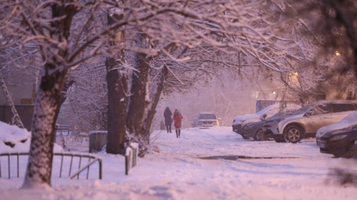 На Челябинскую область надвигаются метели и мокрый снег