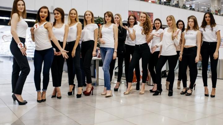 15 самых красивых девушек Челябинска встретились в Торговом городе «Алмаз»