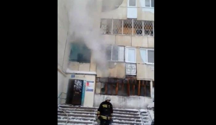 В Уфе в высотке загорелась квартира: погиб мужчина