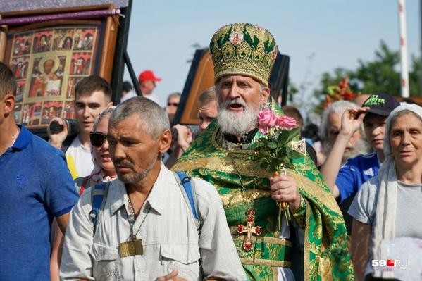 Традиционный Свято-Серафимовский крестный ход по маршруту Пермь — Белая гора проходит каждый год