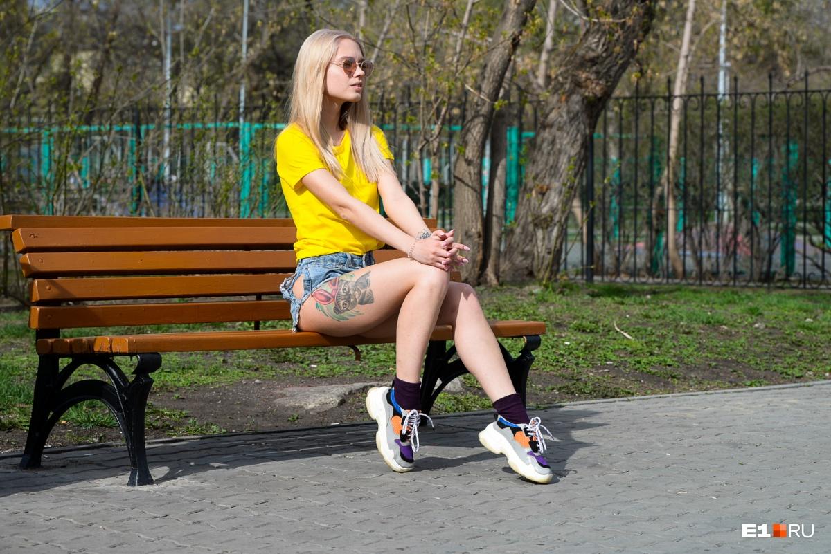 В начале мая в Екатеринбург пришло настоящее лето. Жаркий фоторепортаж Е1.RU