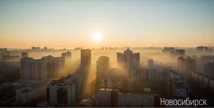 С добрым утром, страна: просыпаемся с красивым таймлапсом рассвета от НГС (видео)