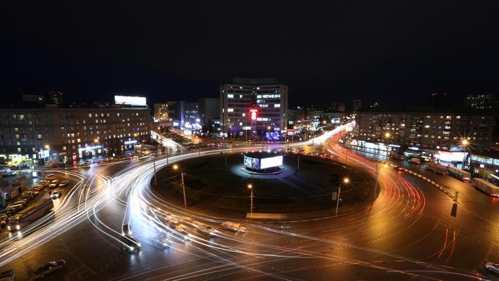 Как Медведев приказал: НГС проехал по кольцам города по новым ПДД
