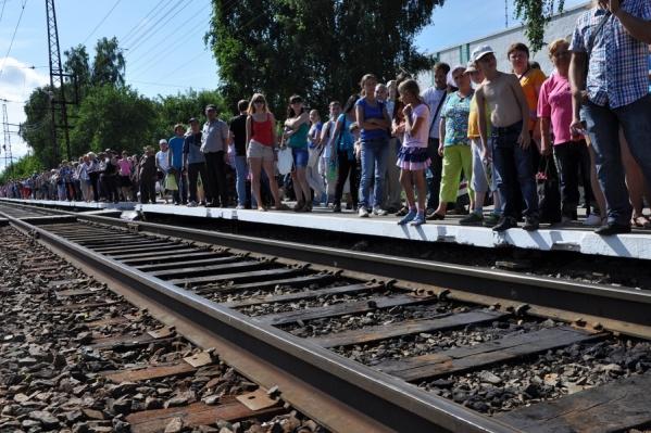 В прошлом году на электричках на авиашоу в Мочище добрались 17 тыс. новосибирцев