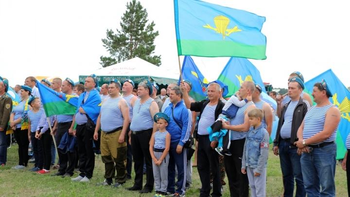 Голубые береты отметили 88-ю годовщину создания Воздушно-десантных войск