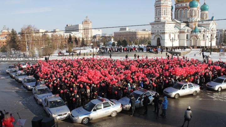 Депутатов Горсовета возмутил флешмоб ГИБДД с перекрытием центральных улиц