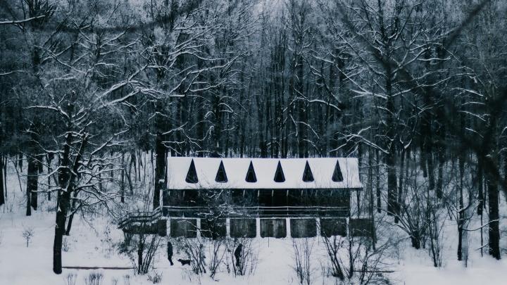 Монохромный Щелоковский хутор. Показываем 9 снимков, пропитанных зимой