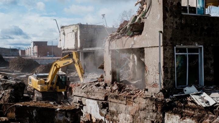 На месте бывшего ДК «Телта» построят 50-метровую гостиницу