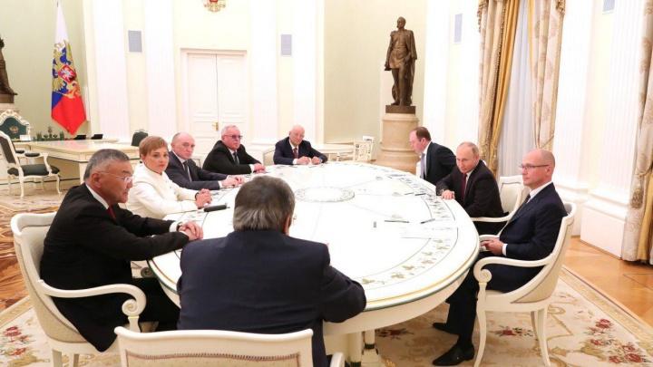 Путин пригласил бывшего губернатора Челябинской области Бориса Дубровского в Кремль