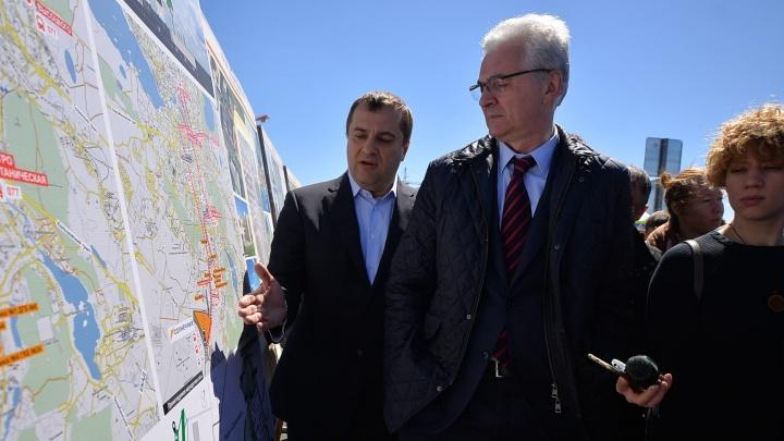 В микрорайон Солнечный хотят провести двухкилометровую трамвайную линию