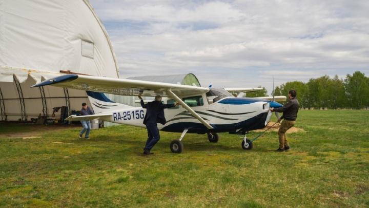 Владелец аэродрома имени Летова подал апелляцию на запрет суда использовать взлётную полосу