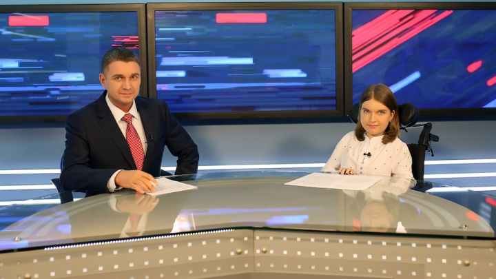 Исполнили мечту. Пермская девочка с неизлечимой болезнью стала телеведущей программы новостей