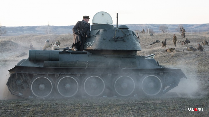 «Пленных не берём»: в Волгоградской области воссоздали операцию «Уран»