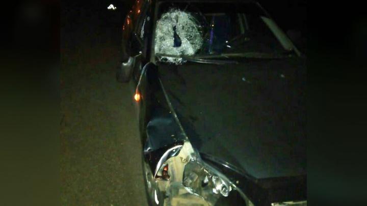 На трассе в Башкирии молодой водитель насмерть сбил женщину