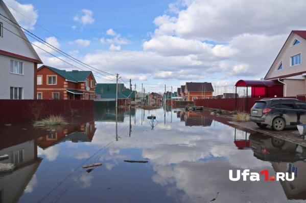 В зоне подтопления социально значимых и потенциально опасных объектов нет