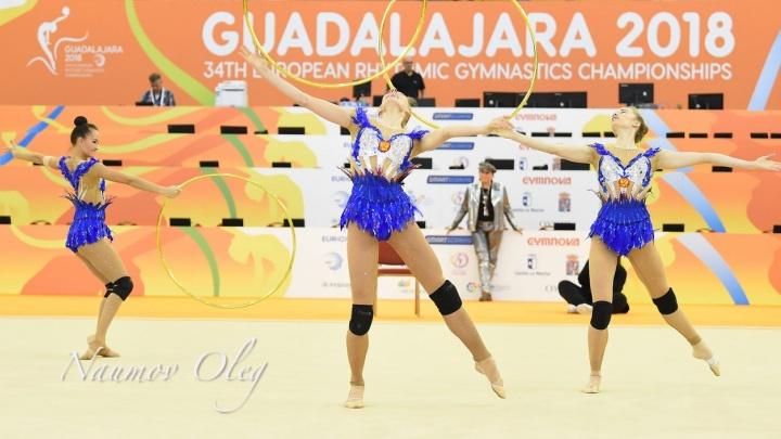 Екатеринбургская гимнастка в составе сборной России завоевала золото чемпионата Европы