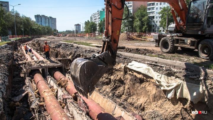 Скандально известную теплотрассу на Ташкентской в Самаре переложат к началу осени