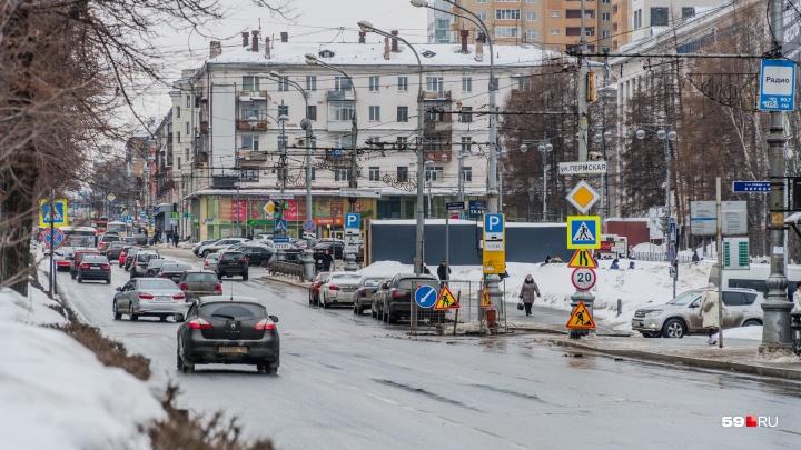В Прикамье вдвое увеличилось количество аварий из-за гололеда и плохого содержания дорог