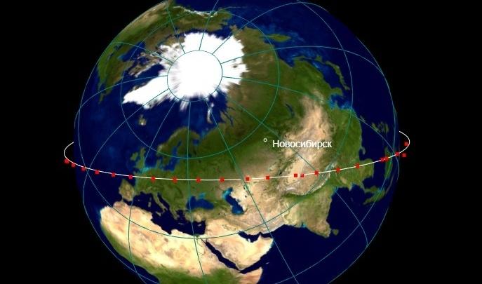 Насчитали 37 штук: новосибирцы заметили в небе вереницу спутников Илона Маска