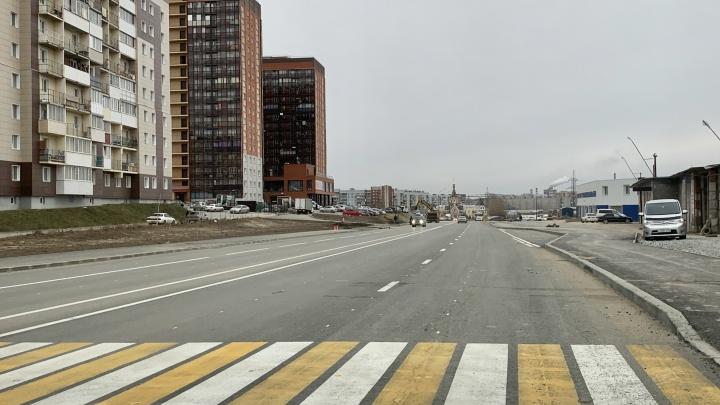 На Родниках открыли новую 4-полосную дорогу