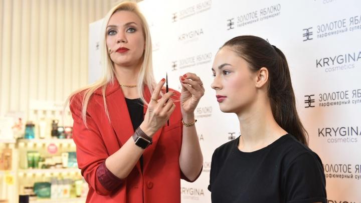 Известный бьюти-блогер России приехала на Урал и показала, как сделать из обычной девушки модель