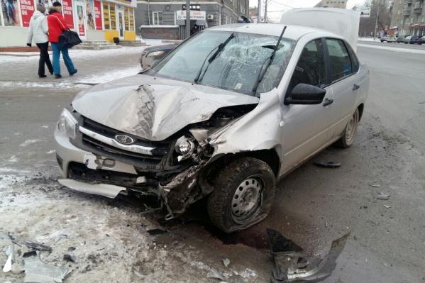 Водитель был госпитализирован