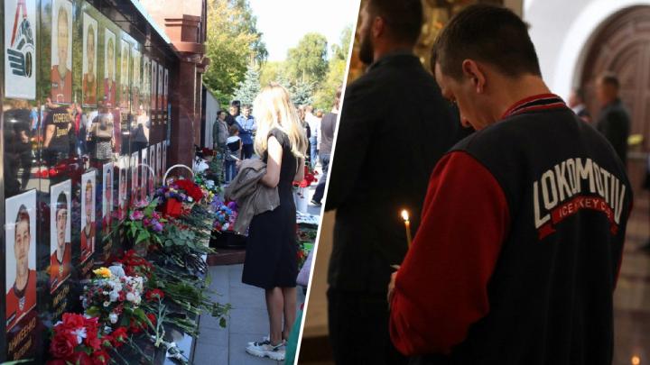 Рамки при входе на кладбище. День памяти «Локомотива» в Ярославле: онлайн-трансляция