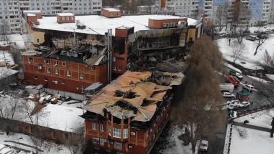 Самарский видеоблогер снял последствия страшного пожара в «Золотой Пагоде»