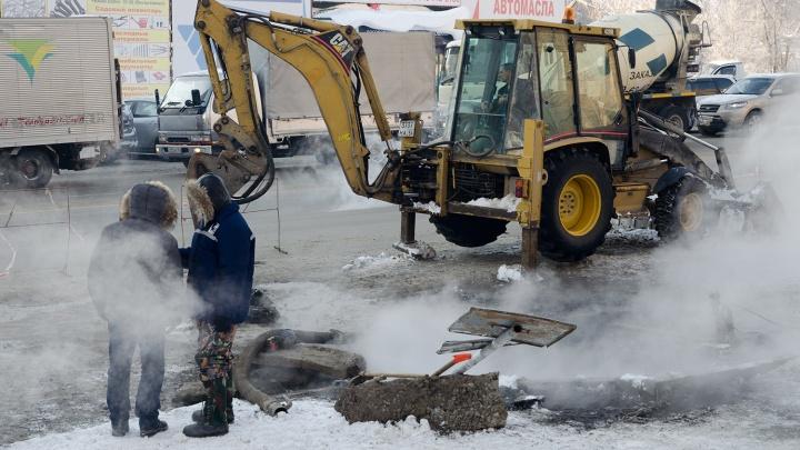 Часть проспекта в центре Новосибирска закрыли для проезда на две недели