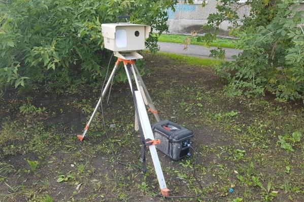 В Курганской области работает более 60 переносных камер