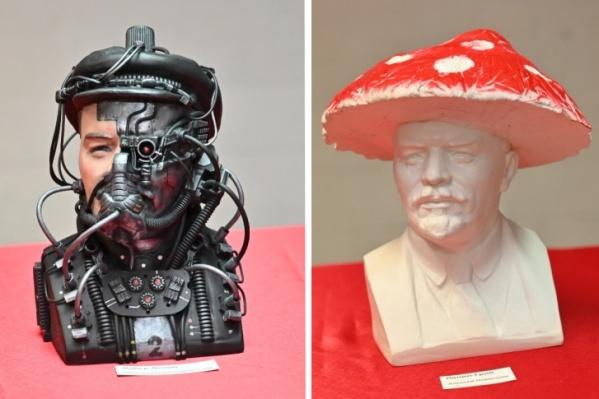 Художники из Екатеринбурга показали Ленина в непривычных образах