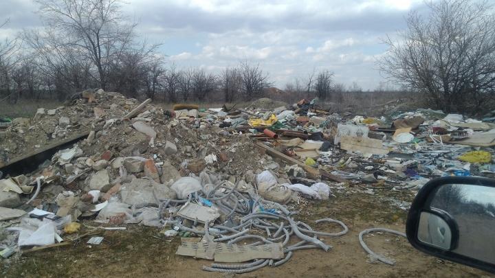 Год назад вывезли35 КАМАЗов: Лысая гора в Волгограде снова превратилась в мусорный полигон