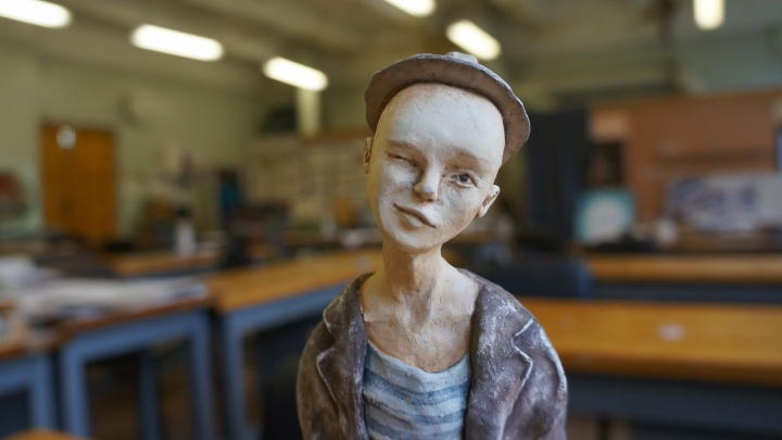 Советские пацанята из бумажной глины: начинающая кукольница о том, как это— творить в Архангельске